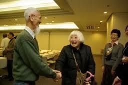 2009年3月のオフ会に参加したタヌキさん(中央)